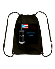 HURRICANE MARIA MEMORIAL MONUMENT FUNDRAISER Drawstring Bag thumbnail