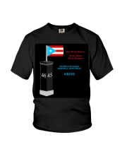 Hurricane Maria Memorial Monument Youth T-Shirt thumbnail