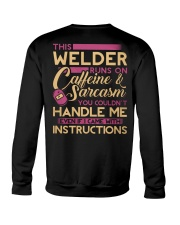 Female Welder - Runs on  Crewneck Sweatshirt thumbnail
