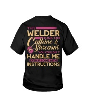 Female Welder - Runs on  Youth T-Shirt thumbnail