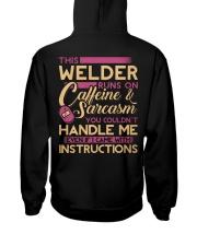 Female Welder - Runs on  Hooded Sweatshirt thumbnail