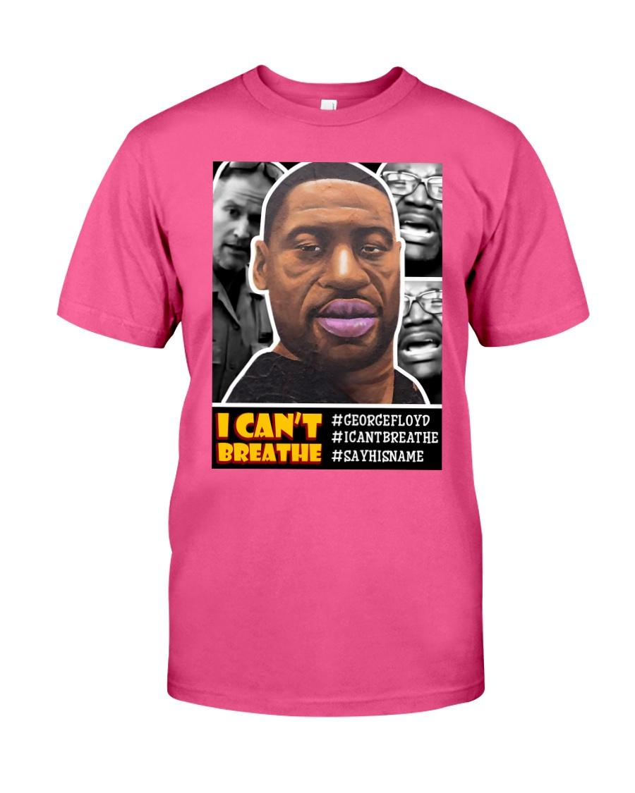 'I CAN'T BREATHE' - Basic Sweatshirt Classic T-Shirt