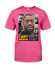 'I CAN'T BREATHE' - Basic Sweatshirt Classic T-Shirt front