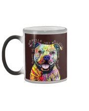 PITBULLS THEY WILL STEAL YOUR HEART Color Changing Mug color-changing-left