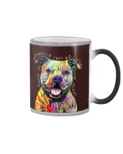 PITBULLS THEY WILL STEAL YOUR HEART Color Changing Mug color-changing-right