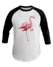 Flamingo stuff Baseball Tee thumbnail