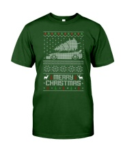 2G DSM Ugly Christmas Sweater Design Classic T-Shirt thumbnail