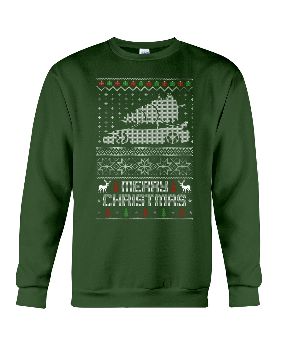 2G DSM Ugly Christmas Sweater Design Crewneck Sweatshirt