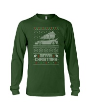 2G DSM Ugly Christmas Sweater Design Long Sleeve Tee thumbnail