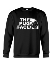 Funny The Pug Face Crewneck Sweatshirt thumbnail