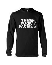 Funny The Pug Face Long Sleeve Tee thumbnail