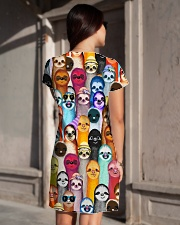 Sloths Lover  All-over Dress aos-dress-back-lifestyle-1