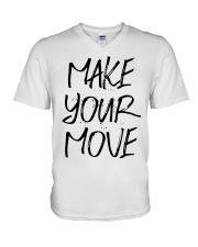 MAKE YOUR MOVE light inspirational shirts V-Neck T-Shirt thumbnail