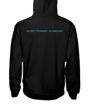 GOOD ENOUGH BLACK SHIRT Hooded Sweatshirt back