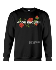 GOOD ENOUGH PULLOVER BLACK HOODIE Crewneck Sweatshirt thumbnail