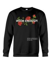 GOOD ENOUGH PULLOVER BLACK HOODIE Crewneck Sweatshirt thumbnail