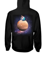Newest black Hoodie Hooded Sweatshirt back