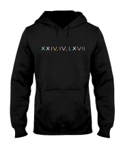 Newest black Hoodie Hooded Sweatshirt front