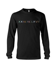 Newest black Hoodie Long Sleeve Tee thumbnail