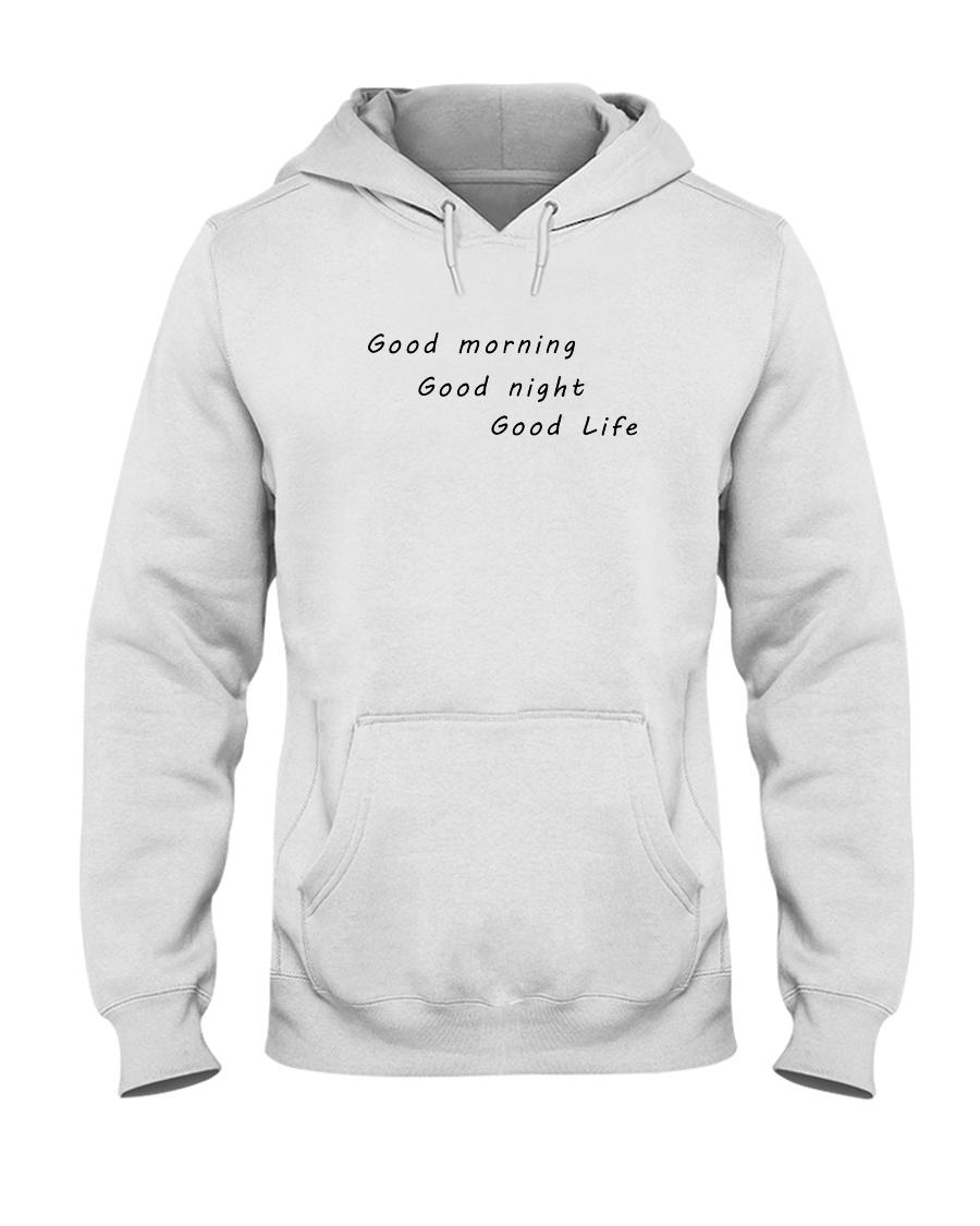 UO Good Life Pink Hoodie Hooded Sweatshirt