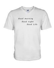 UO Good Life Pink Hoodie V-Neck T-Shirt thumbnail