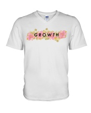 Growth Hoodie V-Neck T-Shirt thumbnail