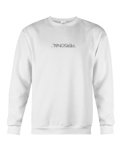 personal white Hoodie Crewneck Sweatshirt thumbnail