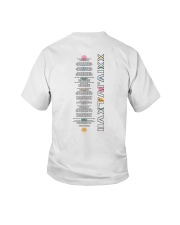personal white Hoodie Youth T-Shirt tile