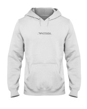 personal white Hoodie Hooded Sweatshirt front