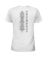 personal white Hoodie Ladies T-Shirt tile