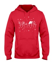 twins holiday sweater hoodie Hooded Sweatshirt front