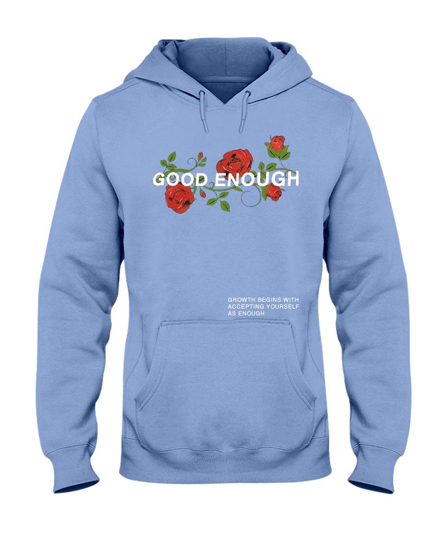 WINTER BLUE GOOD ENOUGH PULLOVER HOODIE Hooded Sweatshirt