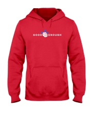 GOOD ENOUGH RED SHIRT HOODIE Hooded Sweatshirt front
