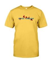 GOOD ENOUGH YELLOW T SHIRT HOODIE Classic T-Shirt front