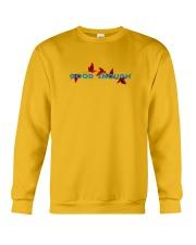 GOOD ENOUGH YELLOW T SHIRT HOODIE Crewneck Sweatshirt thumbnail