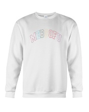 WHITE MEBCOFU SWEATER Crewneck Sweatshirt thumbnail