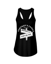 johnson family cookout Ladies Flowy Tank front