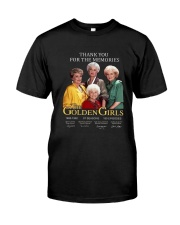 THE GOLDEN GIRLS Classic T-Shirt front