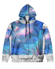 Underwater Sea Creatures Men's All Over Print Hoodie thumbnail