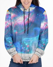 Underwater Sea Creatures Women's All Over Print Hoodie aos-complex-women-hoodie-lifestyle-front-03