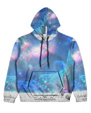 Underwater Sea Creatures Women's All Over Print Hoodie front