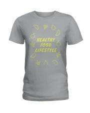 Healthy Food Lifestyle Ladies T-Shirt thumbnail