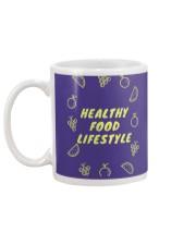 Healthy Food Lifestyle Mug back