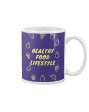 Healthy Food Lifestyle Mug front