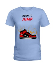 Born To Jump Ladies T-Shirt tile