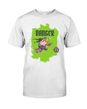 Biker Danger Classic T-Shirt thumbnail