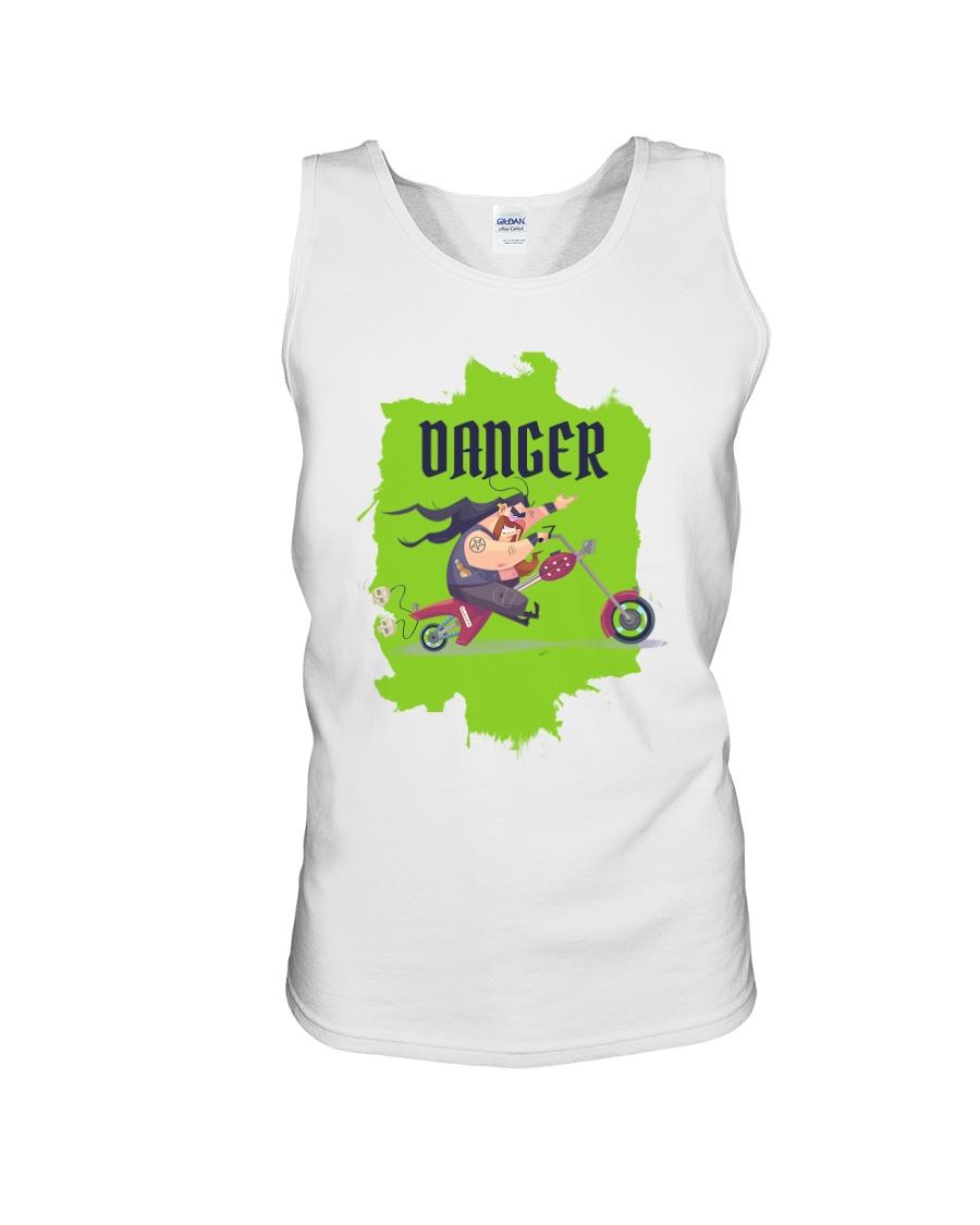 Biker Danger Unisex Tank