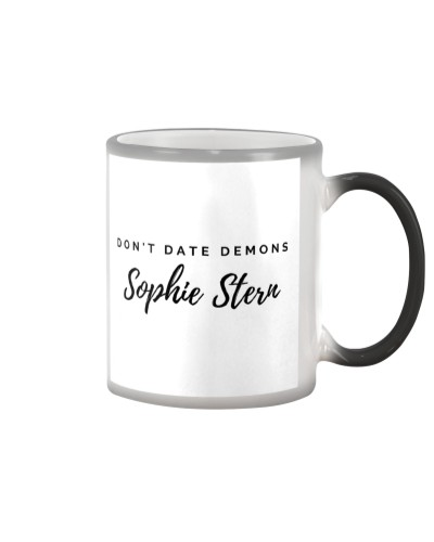 Don't Date Demons Color-Changing Mug