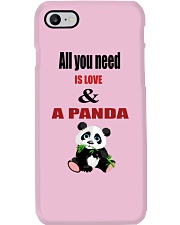 All you need is love and a panda Phone Case thumbnail