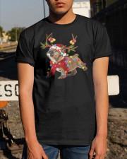 Bulldog Holidays Classic T-Shirt apparel-classic-tshirt-lifestyle-29